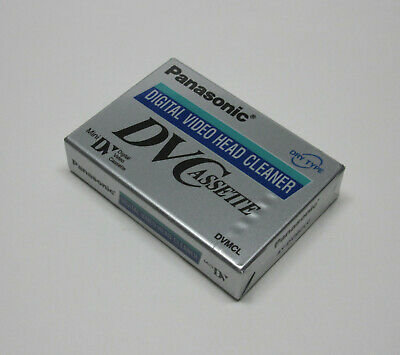 1 Panasonic Mini DV video head cleaning cassette tape for Proline 3CCD camcorder