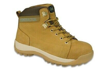 Nubuck Hiker Honey 10 81010 Contractor Genuine Top Quality Product New