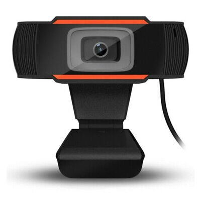 Rotatable 2.0 HD Webcam PC Digital USB Camera Video Recording with Microphone/