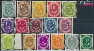 FR of Germany 123-138 unmounted mint / never hinged 1951 Horn (8609803