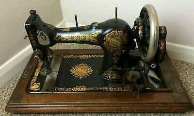 Vintage Jones Family CS Type7 Sewing Machine - Fantastic Condition - With Box