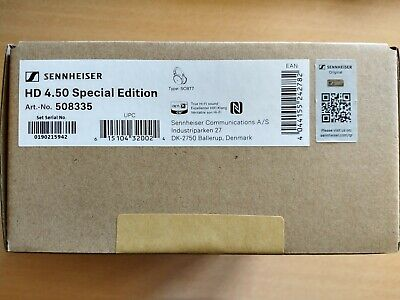SENNHEISER HD 4.50 Special Edition Over Ear Wireless Headphones Noise Cancelling