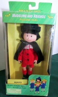 "Madeline Doll 8"" Eden - PEPITO Doll - NEW IN BOX"