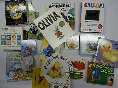 Lot of 20 Children's Board Books  for Kids / Toddlers / Preschool (Lot #5) EXC.