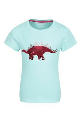 100/% Cotton for Spring Mountain Warehouse Unicorn Sequins Kids Tee