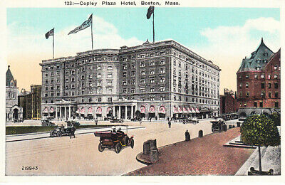 Copley Plaza Hotel Boston Mass