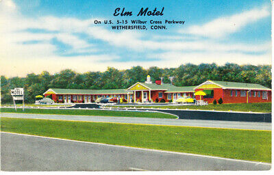 Elm Motel Wethersfield Conn reproduction