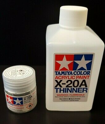 Tamiya Acrylic Thinner Remover Choose Your Size From The List # 81520