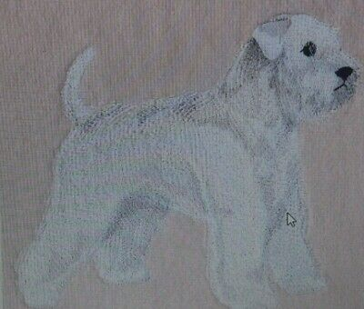 WheatenTerrier Dog Breed Bathroom SET OF 2 HAND TOWELS EMBROIDERED choose design