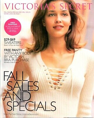 Victoria's Secret Catalog -Fall Sales and Specials 2002 83 Pages