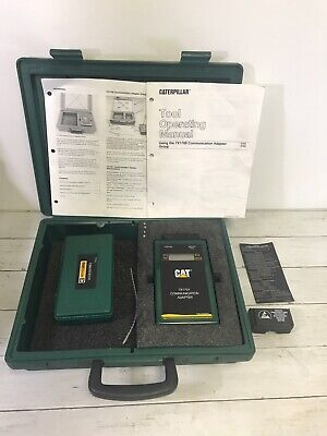Caterpillar 7X1701 Communication Adapter with case