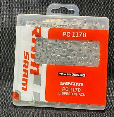 SRAM PC-1170 120-Link 11-Speed Hollow-Pin Road Bike Chain fits GX//Red 22 Shimano