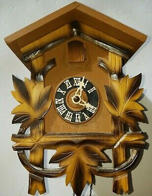 Hubert Herr Black Forest Cuckoo Clock -Needs Bellows Repaired-