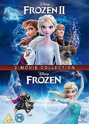 Frozen Doublepack New DVD Box Set / Free Delivery 1 & 2
