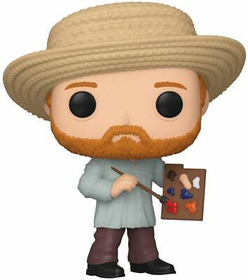 FLAWED BOX Vincent Van Gogh POP Vinyl Figure FUNKO