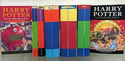 Harry Potter Collection including first editions and hardbacks