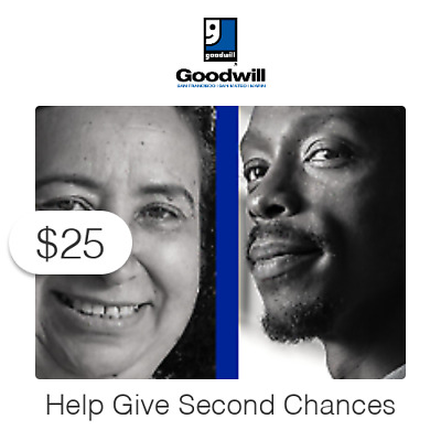 $25 Charitable Donation For: Second Chance Employee Relief Fund