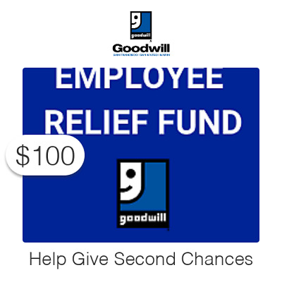 $100 Charitable Donation For:  Second Chance Employee Relief Fund