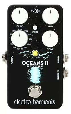 Electro-Harmonix EHX USA Oceans 11 Reverb Electric Guitar Effect Effects Pedal