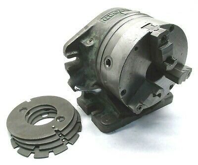 """HARTFORD 8"""" HORIZONTAL / VERTICAL INDEXING """"SUPER SPACER"""" w/ 8"""" THREE-JAW CHUCK"""