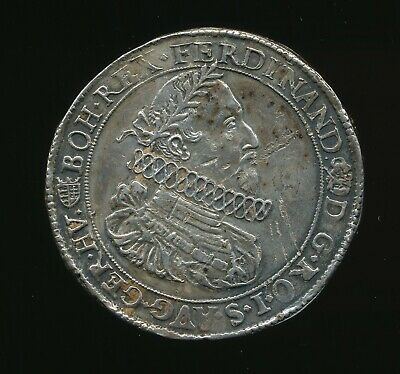 1630 1 Thaler Austria, Hungary Ferdinand Scarce Coin, some damage              c