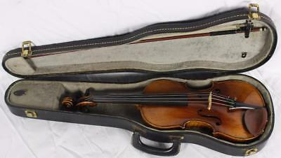 Vintage 4/4 Full Size Nicolaus Amatus 1644 Violin Highly Figured