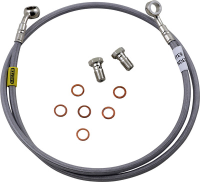 Galfer D254-6 Stainless Steel Complete Front and Rear 6-Line Kit