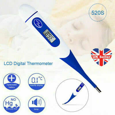 Baby Adult Body Oral Safe Electronic Thermometer LCD Digital Thermometer Medical
