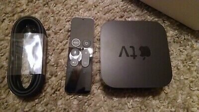 Apple TV (4th Generation) 64GB HD Media Streamer + Siri Remote - A1625
