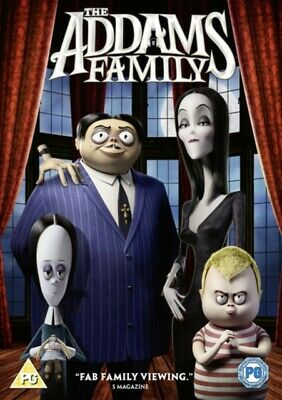The Addams Family (DVD 2020) Snoop Dogg Charlize Theron New / Sealed