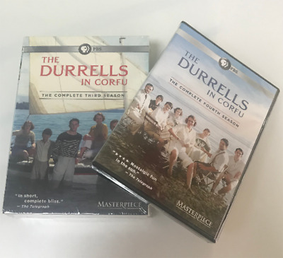 The Durrells In Corfu: Complete Series Seasons 1-4 (DVD, Region 1) FAST SHIPPING