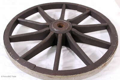 Antikes Holzrad Wagenrad Wanddekoration 4 vorhanden / Antique wooden wheel / wag