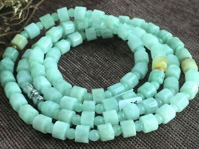 Certified Chinese-exquisite-hand-carved-jade-necklace-28inches 2025