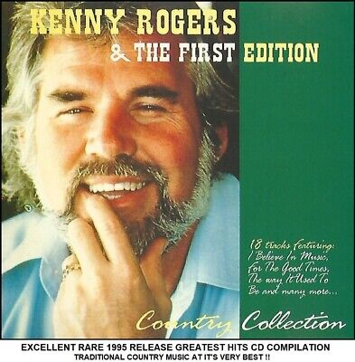 Kenny Rogers - The Very Best Greatest Hits Collection RARE 1995 Country Music CD