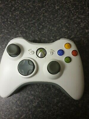 Official Microsoft Xbox 360 Wireless Controller Gamepad - White