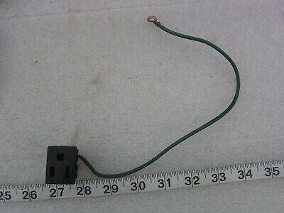 Eagle 15A 125V Snap-In Straight Blade Receptacle 5-15R, Used