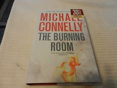 Harry Bosch: The Burning Room by Michael Connelly (2014, Hardcover) 1st edition