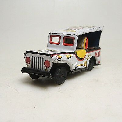 Pennytoy Japan M.P. Jeep USA  ca.10 x 5 cm bespielter Zustand