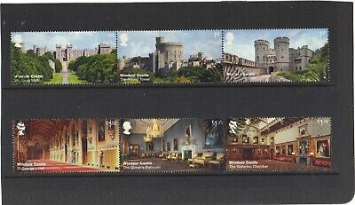 GB 2017 - WINDSOR CASTLE (1st ISSUE) SET USED
