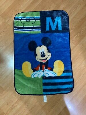 Mickey Mouse Kids Blanket By Disney Baby