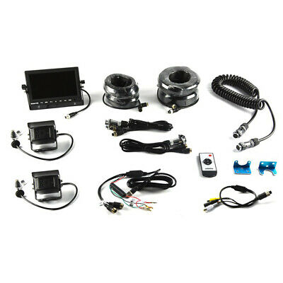Brandmotion Universal Trailer Vision System w/7in Monitor 9002-7803