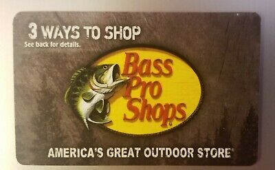 Bass Pro Shops Gift Card $50 (Physical Card)