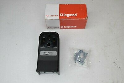 NEW Pass And Seymour Legrand 3854 Surface Mount Range Receptacle 50 Amp 125/250V