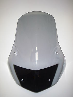 APRILIA ETV1000 CAPONORD 2004- 65cm TALL GREY OR CLEAR TOURING SCREEN