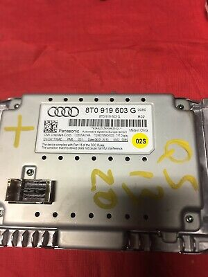 1PCS USED 8T0919603G Audi A4 S4 8K A5 Q5 8R MMI High Display Monitor