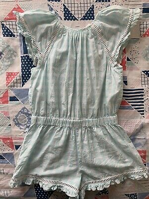 Country Road Girls Gingham Playsuit. Size 5