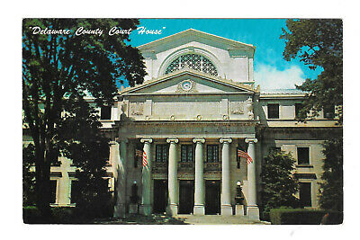 Delaware County Courthouse Media PA Vintage Pennsylvania Postcard