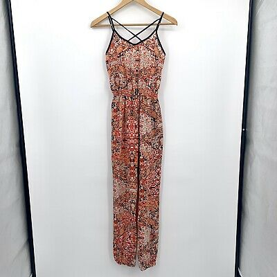 Rue21 sleeveless jumpsuit size XS in EUC