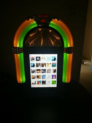 Bubbler Jukebox with touchscreen (collectible) - classic retro 1950's look