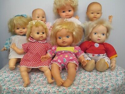 Adorable Lot of Mostly Vintage All Vinyl and Vinyl & Cloth Baby Dolls